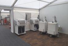 L'hospital de campanya de la Fe rep als primers pacients amb COVID-19