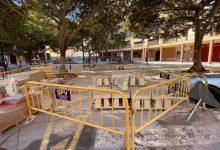 Continuen les obres de millora del carrer Marquesat i Virgen del Puig de Torrent