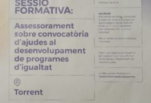 Torrent assessorarà les associacions de dones del municipi per a optar a ajudes de fins a 15.000€