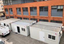 El centre de salut de Xàtiva amplia la seua àrea assistencial amb sis mòduls prefabricats