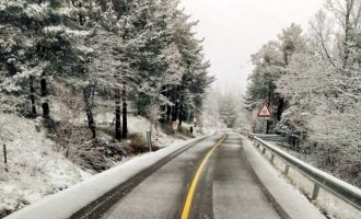 El temporal en la Comunitat Valenciana: -10.6 °C en Ademús, gelades a Xàbia i dos municipis que no superen els 0° des de Reis