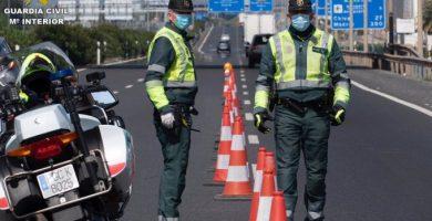Policía y Guardia Civil refuerzan los controles ante las nuevas restricciones