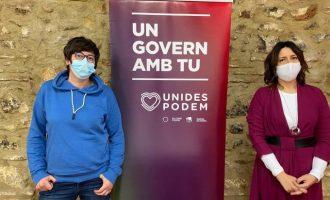 Las direcciones de Podem y EU instan al grupo parlamentario a nombrar a Lima como síndica