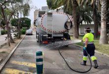 Alcàsser incrementa la desinfecció dels espais públics