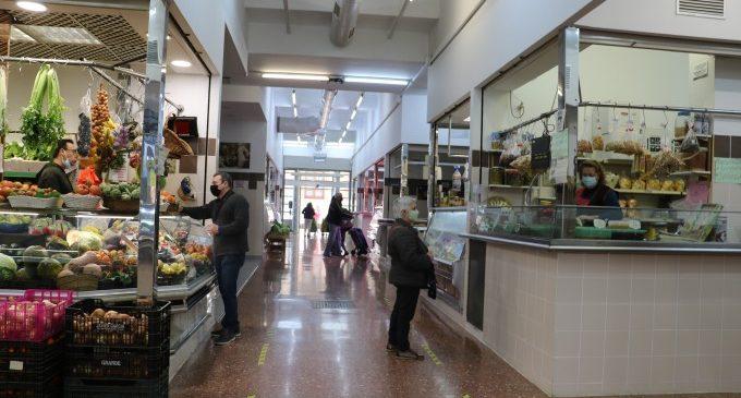Quart de Poblet suspén les taxes del mercat ambulant i del Mercat Municipal mentre dure l'Estat d'Alarma en 2021