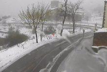 Dues carreteres segueixen tallades per neu a la Comunitat Valenciana i en altres 16 cal usar cadenes