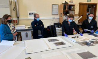 La Generalitat Valenciana restaura 10 obras gráficas pertenecientes al Museo Joan Fuster de Sueca