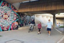 """El Jardí del Túria es convertirà en """"museu d'art urbà a l'aire lliure"""" amb la instal·lació d'onze murals"""