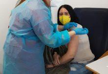 El centro residencial Bonestar de Simat recibe la segunda dosis de la vacuna contra la COVID-19