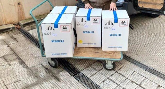 Arriben les 31.000 dosis de vacunes contra la Covid a la Comunitat Valenciana