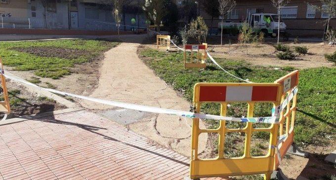 S'ultimen les obres de millora del jardí de Jose María d'Haro