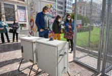 L'Ajuntament de València col·labora amb la universitat Jaume I per analitzar en l'aire de la plaça de l'ajuntament la presència de restes genètiques de la Covid-19