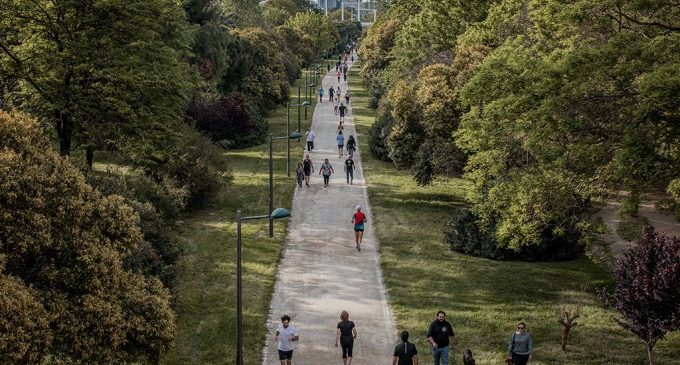 Els centres de majors de València reactiven les seues activitats esportives als parcs