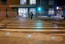 Centre de Salut i col·legis públics de Puçol compten amb nova senyalització lluminosa als passos de zebra