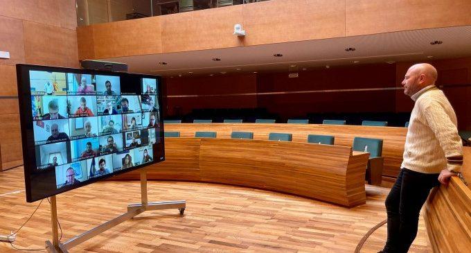 Gaspar es reuneix amb els alcaldes i alcaldesses de La Safor per a conéixer les necessitats dels seus municipis