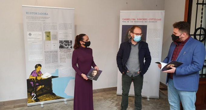 L'Espai Joan Fuster de Sueca acull una exposició sobre l'escriptora Carmelina Sánchez-Cutillas dins dels actes commemoratius pel 8M