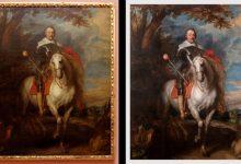 El 'Retrat de Francesc de Montcada' torna restaurat a les sales del Museu de Belles Arts