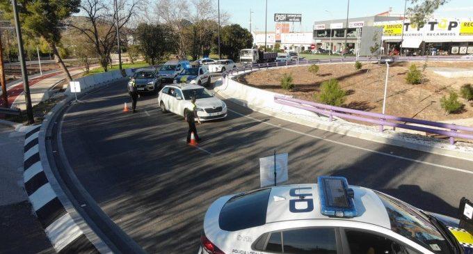Gandia sanciona 137 persones per no respectar el tancament perimetral durant el cap de setmana