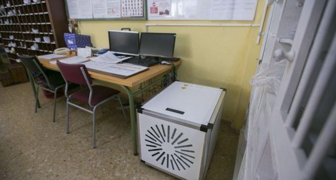 Gandia inicia el repartiment de 115 purificadors HEPA als col·legis públics i concertats