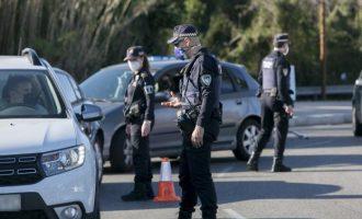 La Policia imposa 3.471 actes de sanció i deté a 31 persones pels tancaments perimetrals