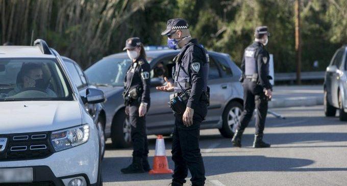 2.800 sancions en les últimes 48 hores de tancament perimetral de grans ciutats