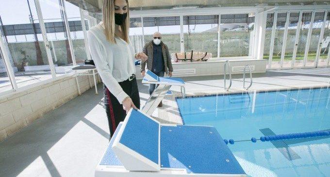 Gandia continua amb els treballs del Pla de Millora d'Instal·lacions Esportives 2021