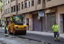 Finalitzen les obres de millora dels carrers Pintor Renau i Riu Túria de Torrent