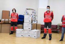 Cruz Roja Torrent y la Liga de la Educación donan 10.000 mascarillas y 4.000 unidades de gel hidroalcohólico al Ayuntamiento de Torrent