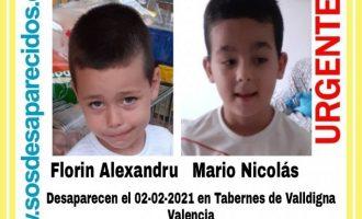 Els xiquets desapareguts a Tavernes de la Valldigna estaven amb la seua mare