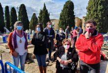 Pérez Garijo assisteix a l'inici de la primera exhumació de víctimes del franquisme en el cementeri d'Alacant