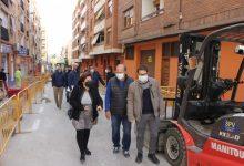 Ontinyent inicia la reurbanització del carrer Pare Fullana que duplicarà l'espai per als vianants