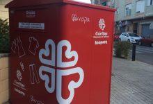 Burjassot recull més de 79.000 quilos de roba i calçat destinats Càritas i als projectes que desenvolupa