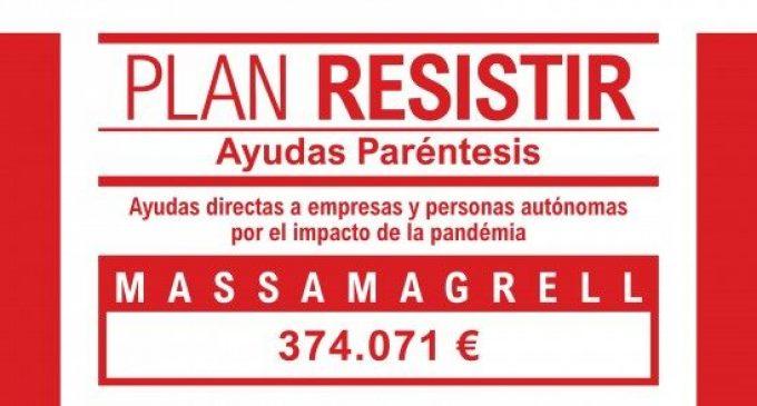 Massamagrell aprova les bases per a la concessió d'ajudes del Pla Resistir