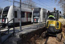 Empiezan las obras de mejora de accesibilidad y seguridad en los pasos entre andenes de la estación de Seminari-CEU en Metrovalencia