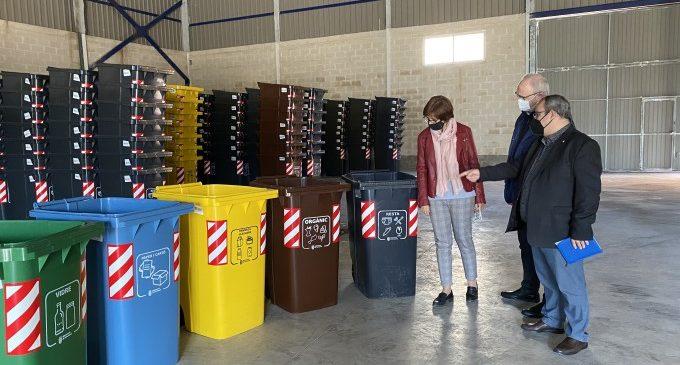 Todo a punto para el inicio del nuevo sistema de recogida de residuos en Carcaixent