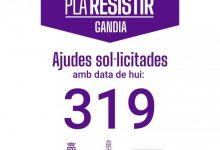 """Gandia tramita 319 peticions d'ajudes directes """"Parèntesi"""", per microempreses i autònoms afectats per la pandèmia en els primers quatre díes"""