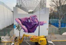 Aldaia promociona el paper de la dona en l'esport amb un gran mural de pilota valenciana