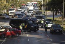 El tancament perimetral de ciutats deixa al voltant de 1.200 denúncies en la Comunitat Valenciana en menys de 24 hores