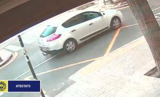 Localitzen a Favara el cotxe del conductor que va fugir després d'atropellar a una dona a València