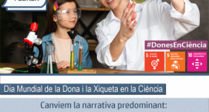 Llíria se suma a la commemoració del Dia Internacional de la Dona i la Xiqueta en la Ciència