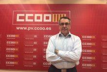 Arturo León presenta su renuncia como secretario general de CCOO PV tras la polémica por su vacunación