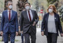 """Puig insiste en que la desescalada será """"muy prudente"""" y en contacto con los sectores afectados"""