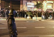 Carles Esteve (Compromís) presenta una denúncia per lesions contra el policia que li va colpejar en la protesta per Hasél
