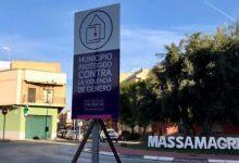 """Massamagrell se suma a la campanya """"El silenci et fa còmplice"""""""