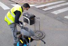 L'Ajuntament d'Almussafes desratitza i desinfecta el sistema de clavegueram