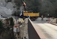 Ontinyent repara los muros de piedra del acceso al Pont de la Costa del siglo XVIII