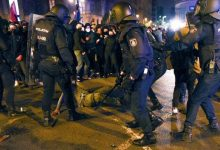 Segona jornada d'incidents i càrregues policials en la protesta de suport a Pablo Hasél
