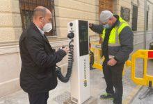 Massamagrell instal·la el seu primer punt de recàrrega de vehicles elèctrics per a tota la ciutadania