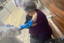 Comença la vacunació a les persones majors de 90 anys d'Alcàsser