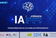 La Generalitat organitza unes jornades sobre intel·ligència artificial en Formació Professional